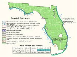 florida landform map map html