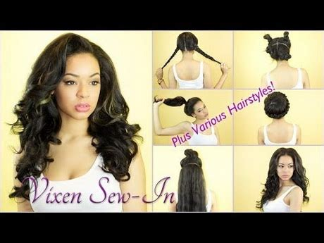 can you get a vixen sew in with short hair hairstyles you can get with the vixen sew in