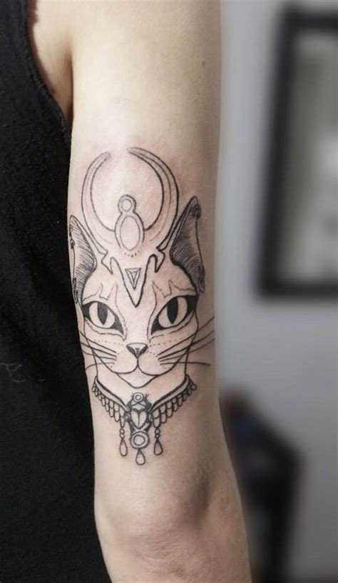 75 of the cutest cat tattoo designs for cat lovers