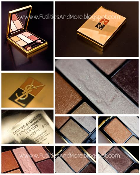 eyeshadow tutorial ysl brown smokey eyes copper smokey eyes eyeshadow palette