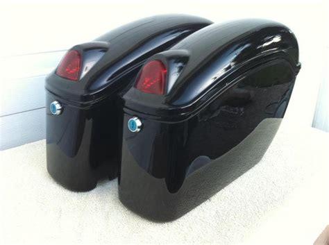 saddle bags fy black motorcycle saddlebags bags magna vtx sebre mounting kits hp