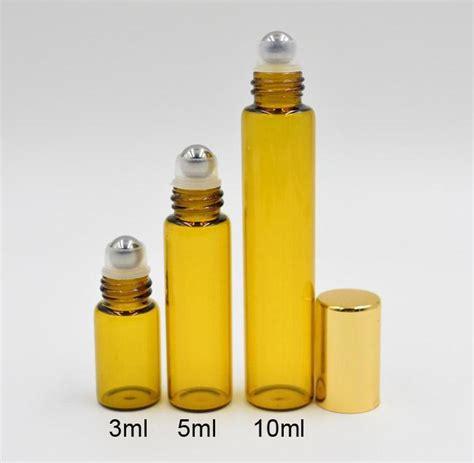 Parfum Roll On 5ml Murni Biang refillable 3ml 5ml 10ml roll on fragrance perfume glass bottles essential bottle steel