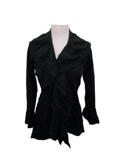 Cardigan Middle Line Black fashion inspiration on wide leg cut