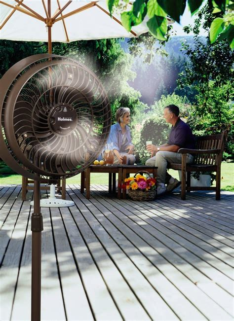 Outdoor Misting Fan Cooling Water Portable Mist Spray Patio Misting Fans