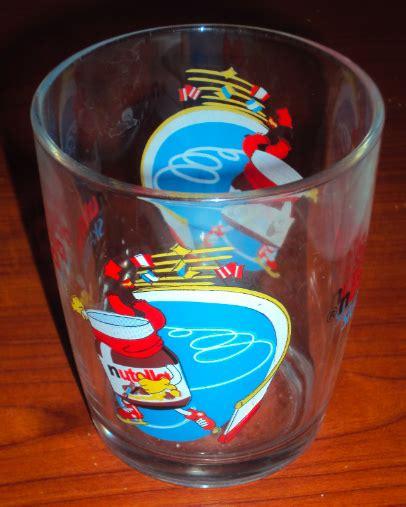 bicchieri della nutella bicchieri della nutella tutti da collezionare