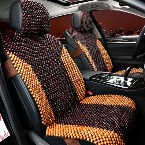 2 seats only wooden covers for summer car seat cover