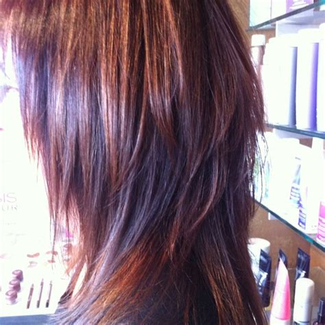 long edgy weave styles edgy sexy layers for fine hair so cute color hues of