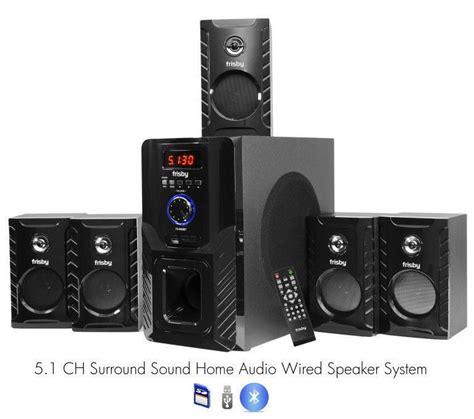 frisby fs5000bt 800watt bluetooth 5 1 surround sound home