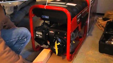 Husky Generator 5000 Watt Subaru Engine Portable Generator