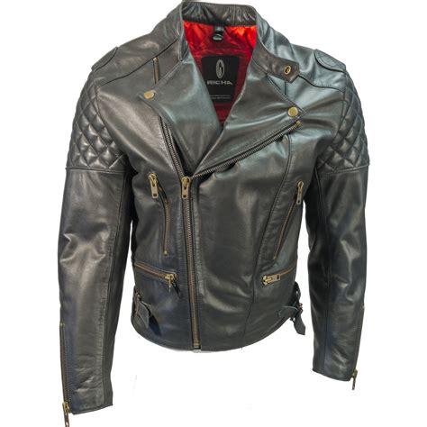cruiser motorcycle jackets richa triple leather motorcycle jacket mens vintage caf 233