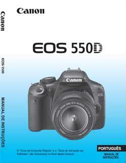 Download Manual Da C 226 Mera Canon Eos 550d Rebel T2i Em