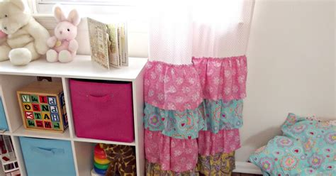 chalk pink curtains girly ruffled curtains and inspiration days of chalk and