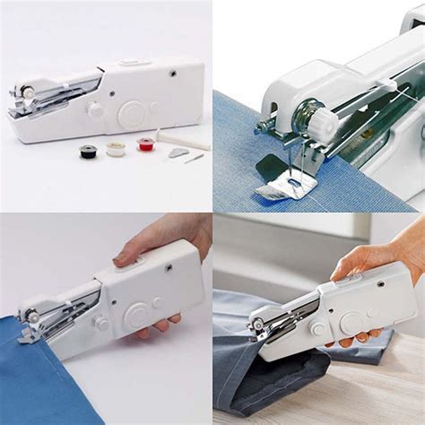 Sale Handy Stitch Mesin Jahit Mini Portable Handy Stitch Murah handheld sewing machine tailor 180 s tack quilting and sewing supply