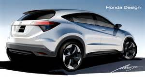 Newest Honda New Honda Hr V Previewed In Official Drawings