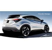 New Honda HR V Previewed In Official Drawings  Motorward