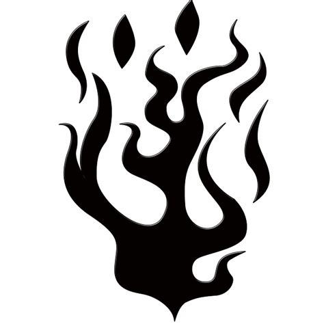 Flames Black Hitam kostenlose illustration flammen silhouette form feuer