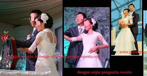 Kebaya Payet Atasan payet gaun pesta desain baju pesta kebaya modern dan