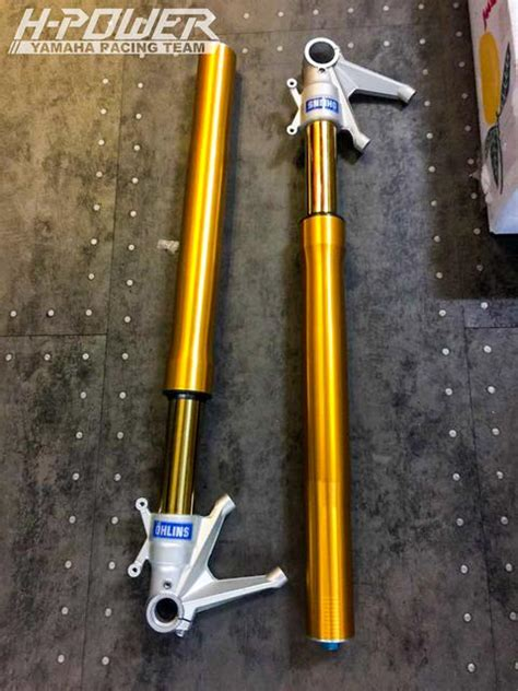 Shock Ohlins Sonic 150 R modifikasi yamaha r25 ohlins suspension plus brembo