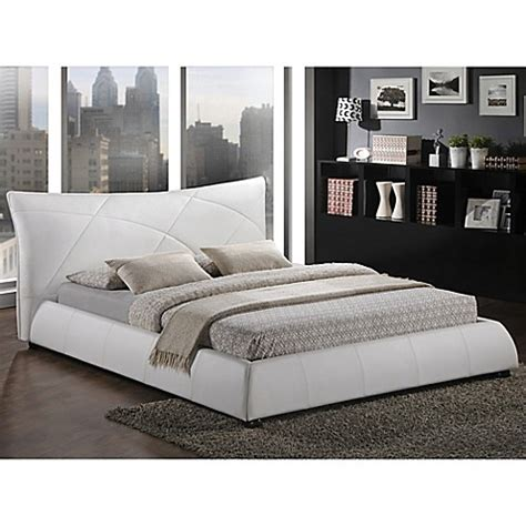 bed bath and beyond headboards buy baxton studio corie queen platform bed with headboard