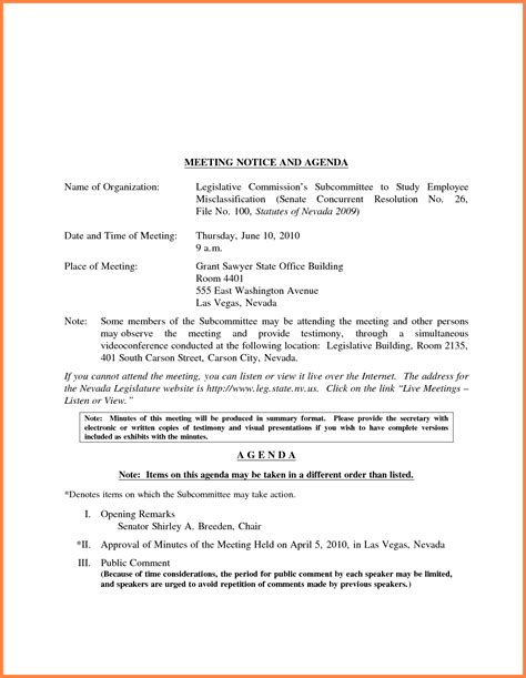 staff meeting memo template mandatory staff meeting notification template pictures to