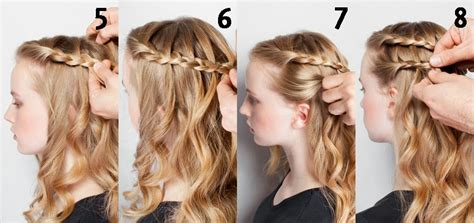 peinados con trenzas pelo suelto paso a paso www peinados lindos con el pelo suelto chispis com