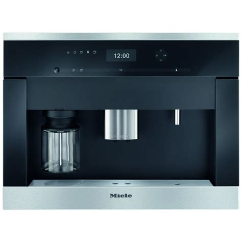 miele cva6401clst fully automatic built in coffee