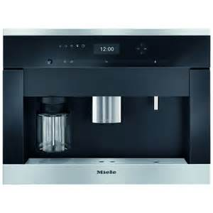 miele built in coffee machine miele cva6401clst fully automatic built in coffee