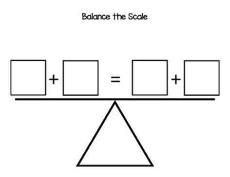 balance form bathroom scale my first graders have been learning how to quot balance the