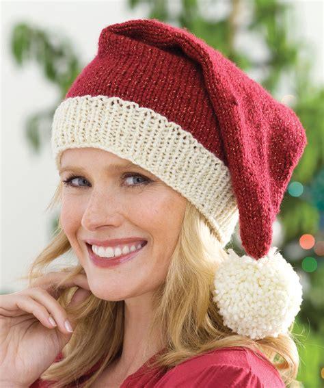 knit santa hat knitted santa hat pattern a knitting