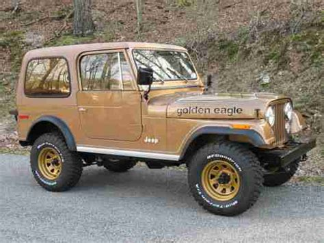 jeep cj golden eagle jeep cj7 golden eagle