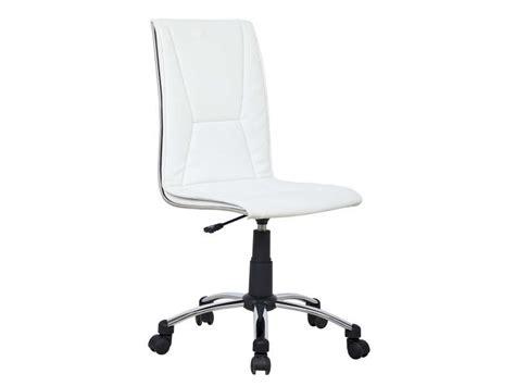 conforama siege bureau fauteuil de bureau coloris blanc vente de