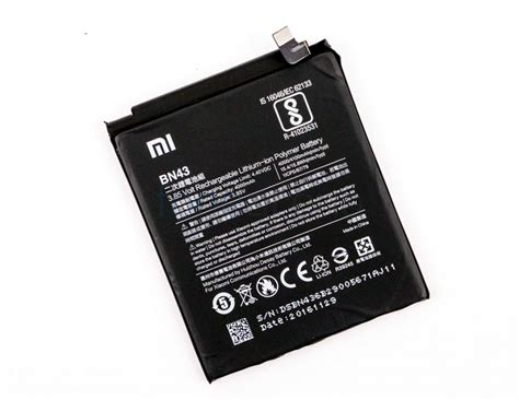 Baterai Batre Battery Xiaomi Redmi Note 4x Bn43 Power Jpower xiaomi redmi note 4 teardown