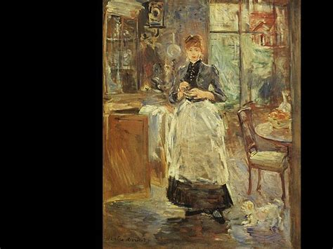 Berthe Morisot In The Dining Room Pin By Newlin Tillotson On History 20th Century Artists