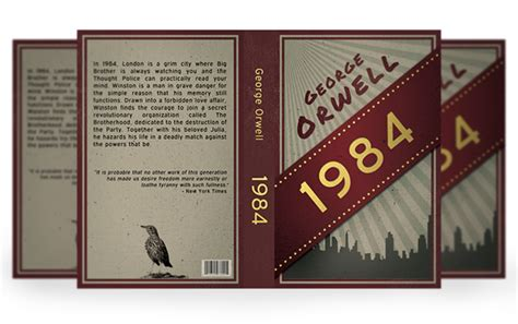 design a book jacket for 1984 quot 1984 quot book cover on behance