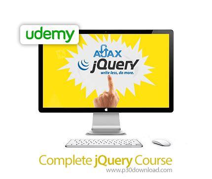 complete jquery tutorial pdf دانلود udemy complete jquery course آموزش کامل جی کوئری