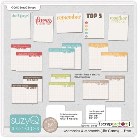 project journaling card template 250 free project journaling and filler cards fab