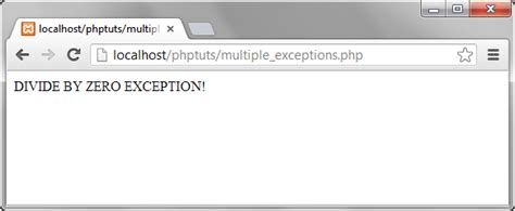 php tutorial error handling php try catch exle exception error handling tutorial