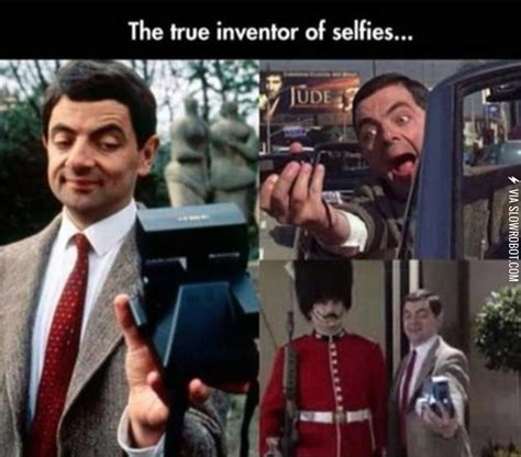 mr bean toilet mr bean the true inventor of the selfie