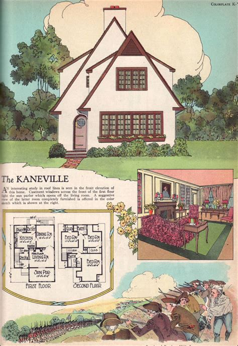 home plans magazine 1925 kaneville by american builder magazine