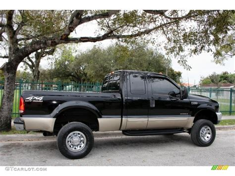 ford f250 2000 black 2000 ford f250 duty lariat extended cab 4x4