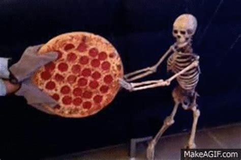 pizza skeleton gif find & share on giphy