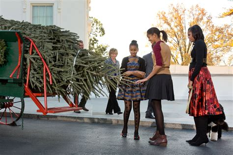 first dog in the white house first lady michelle obama receives the 2012 white house christmas tree whitehouse gov