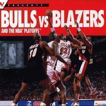 classic bulls vs blazers and the nba playoffs play game