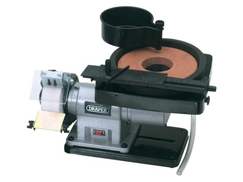 bench grinder accessories draper bgwd205a 230v wet and dry bench grinder