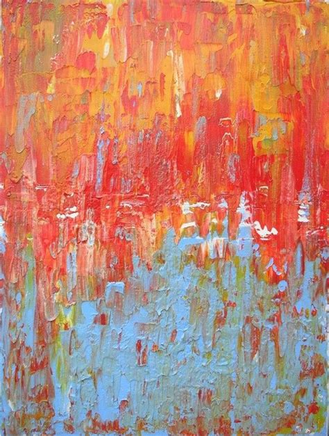 Original Abstract Painting Acrylic On Canvas By Paul Lewis