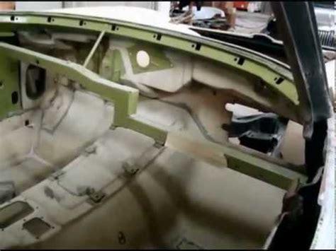 "1963 corvette coupe "" body off "" / underbody,bird cage"