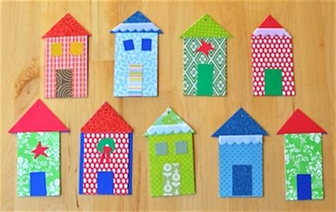 Paper House Craft - today i learn about house craft