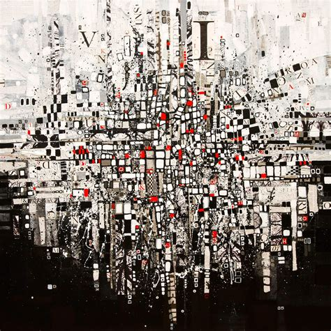 Home Decorators Outlet by Black White And Red Modern Abstract Art On Canvas Painting