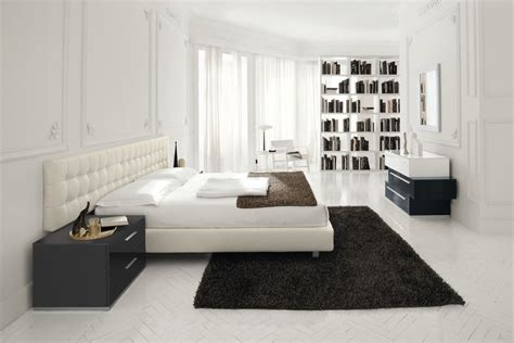 modern white bedroom ideas 现代主卧室书柜装修效果图大全 土巴兔装修效果图