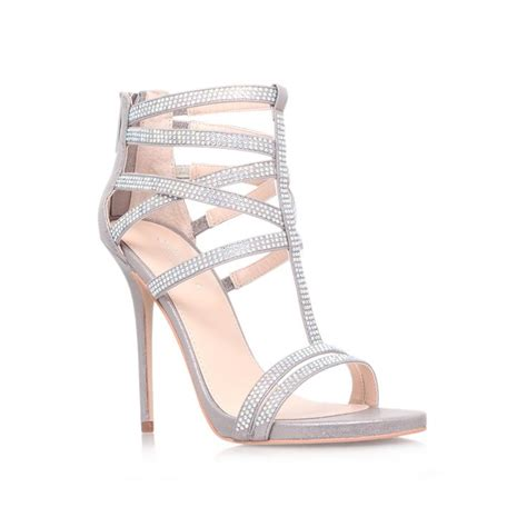 Wedding Shoes Kurt Geiger by Glaze Silver Shoe By Carvela Kurt Geiger Shoes